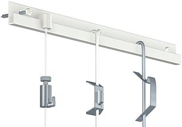 Cimaise et cimaises pour tableau cimaise classic rail 20 - Systeme accroche tableau ...