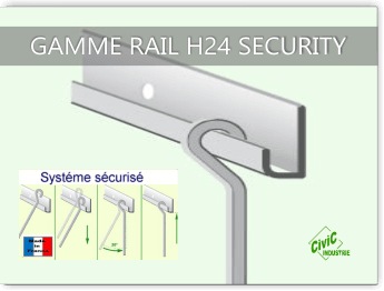 Cimaise Civic industrie H24 security