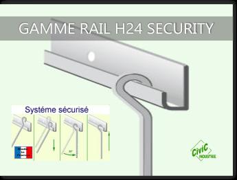 Cimaise Civic industrie H24 security