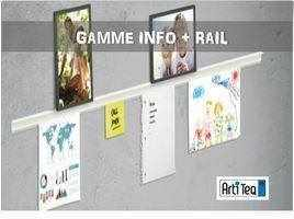 cimaise info plus rail