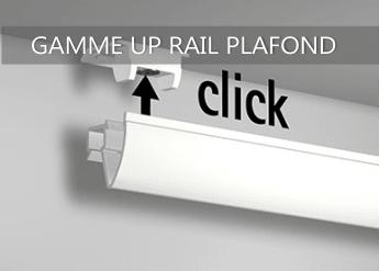 cimaise up rail plafond
