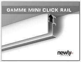 cimaise mini click rail
