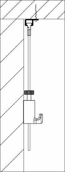 cimaise clip rail newly