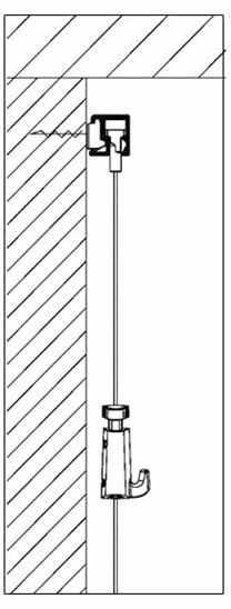 cimaises clip rail